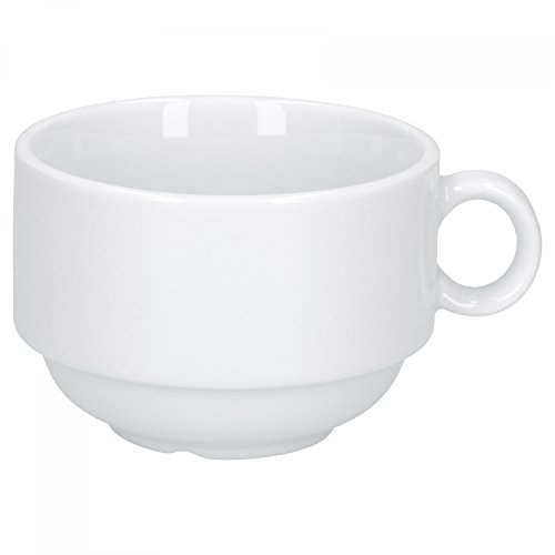 Kaffeebecher Set 2 teilig Caf/é Sommelier 2.0 wei/ß 320 ml