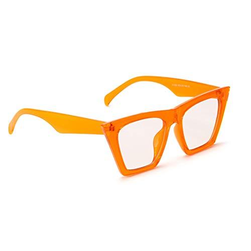 Flat Top Cat Eye Sonnenbrille Frauen Markendesigner Rot Weiß Schwarz Sonnenbrille Für Frauen Männer Uv400