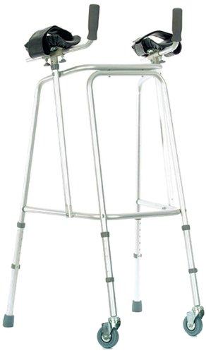 Nottingham Rehab Supplies (NRS) - Deambulatore a rotelle con supporti ascellari