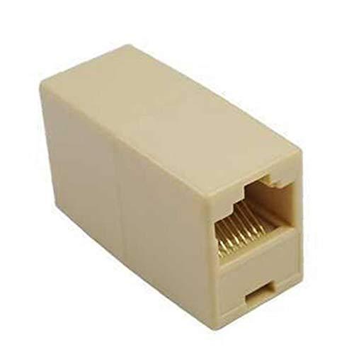 Professionelle Newtwork-Ethernet-LAN-Kabel F/F-Buchse Auf Buchse RJ45-Koppler Gerader Modular Inline-Stecker CAT 5 5E Cat5E Extender Stecker Verlängerungs Joiner Adapter 8P8C Für -