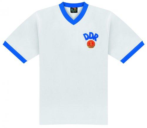 World of Football Retro Trikot DDR 1974 - L