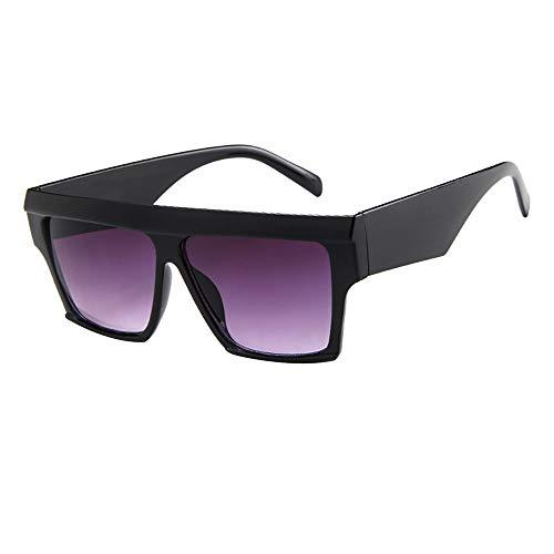 LCLrute Herren und Damen Sonnenbrillen Damen Herren Vintage Retro Brille Unisex Big Frame Sonnenbrille Eyewear Verspiegelt UV-Schutz