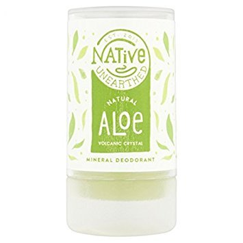 Native Unearthed - Natural Deodorant Volcanic Crystals & Aloe - 100g