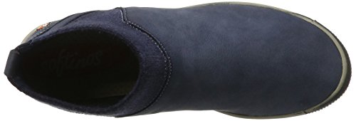 Softinos - Imi412sof Washed, Stivali Donna blu (navy)