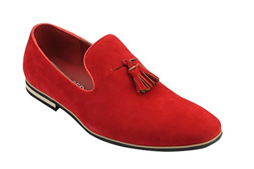 Xposed , Mocassins homme Rouge - Rosso (rosso)