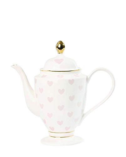Miss Étoile Kaffeekanne Herzchen Rosa