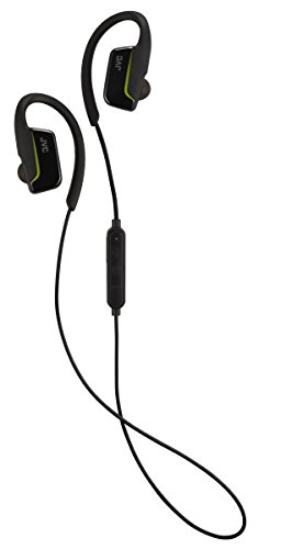 JVC AE Wireless Sports Bluetooth In Ear with Over Ear Clip - Black Best Price and Cheapest