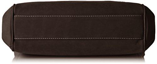 Timberland Tb0m5223, Borsa a Spalla Donna, 13x35x35 cm (W x H x L) Marrone (Black Coffee)