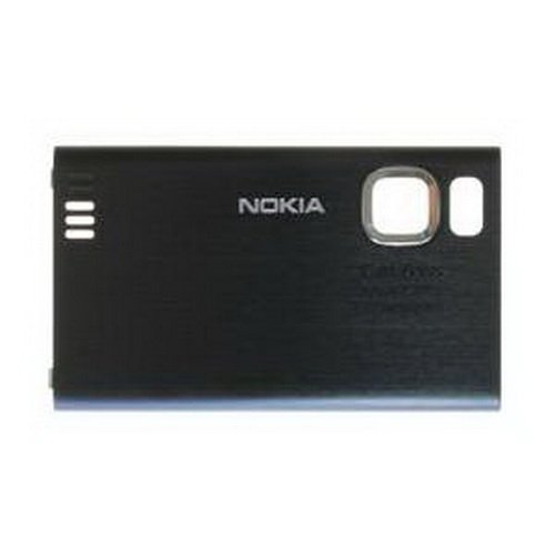 Nokia 6500 Slide Akkufachdeckel Schwarz (Slide 6500 Nokia)