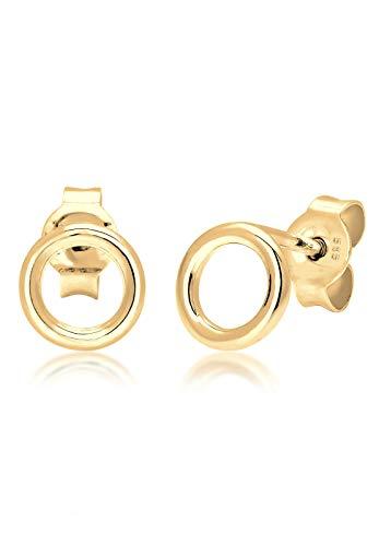 Elli Premium Damen-Ohrstecker 14_k_(585) Gelbgold 0312690617