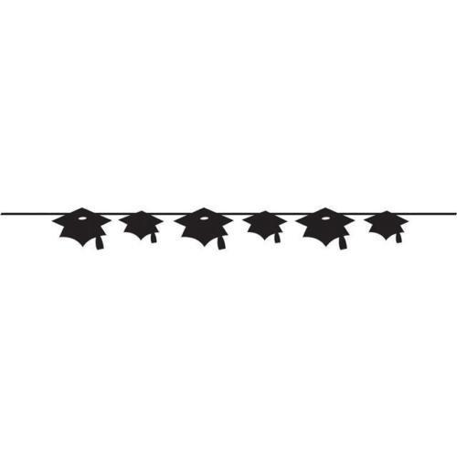 Graduation Cap die cut Band Banner (Congrats Grad Banner)