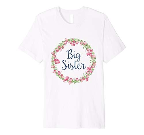 Babyshower Geschenk Big Sister T-Shirt Big Sister Baby Tee