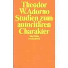 Studien zum autoritären Charakter.