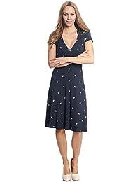 Vive Maria Damen Kleid Ahoi Girl Maritim Anker Vintage Dress