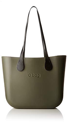 OBAG Mujer Bolso de mano Gris Size  14x31x39 cm (W x H x L 47176a1029d