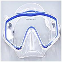 Máscara de buceo sueca JoHej AJ-500 tamaño adulto/joven, azul