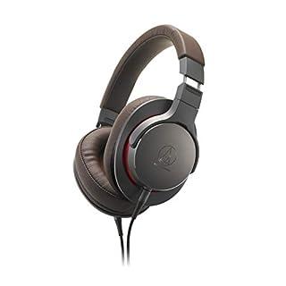 Audio-Technica ATH-MSR7BGM ATH-MSR7b Over-Ear High-Res Headphones Gun Metal