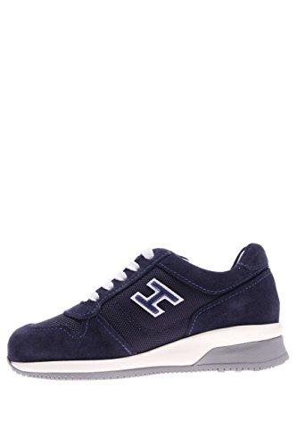 Hogan Junior Kinder Sneaker hxc1580s9818vv631z Sneaker zugeschnürt Blau