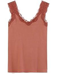 Amazon.fr   Promod - T-shirts, tops et chemisiers   Femme   Vêtements 0237ce4055b7