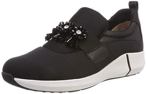 Marc Cain Damen KB SH.49 J09 Sneaker, Schwarz (Black), 40 EU