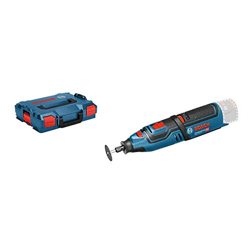 Bosch Professional 12V System Akku Rotationswerkzeug GRO 12V-35 (ohne Akkus und Ladegerät, in L-Boxx)