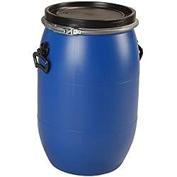 Sotralentz - Fut 60 litres bleu à ouverture totale