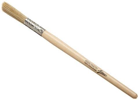 Ateco Round Pastry Brush with White Bristles, 3/8 Inch Diameter by Ateco