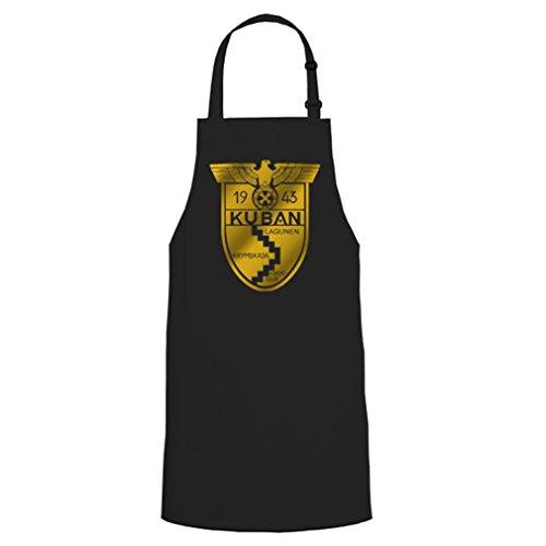 Kouban Militaire Bundeswehr armoiries insigne de béret Allemagne Griller Party cadeau unique – Tablier/Tablier de barbecue # 16564 - Noir - Taille unique
