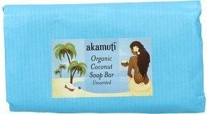 AKAMUTI - Savon de Coco Bio Sans Parfum - Parfait pour le lavage en douceur de la peau sensible - Convient à tous les types de peau