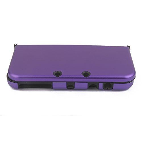 Aluminium Metall Haut Case Schutzhülle Für New Nintendo 3DS XL Lila - Metall-scharnier Linke Seite