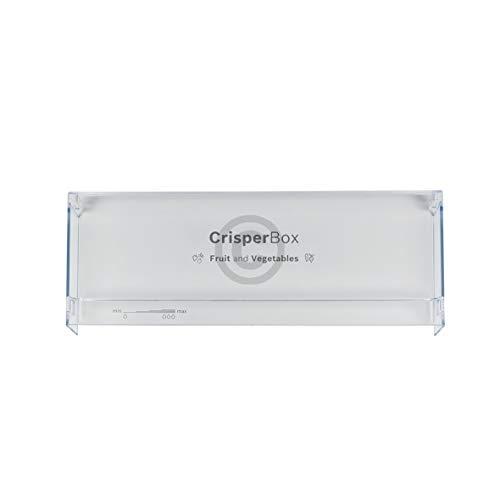 Schubladenblende für Gemüsebehälter Kühlschrank 450x165 mm Bosch 00706684