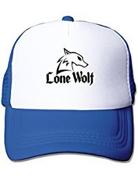 Lonewolf Band Nylon Adult Baseball Cap Sport Cap