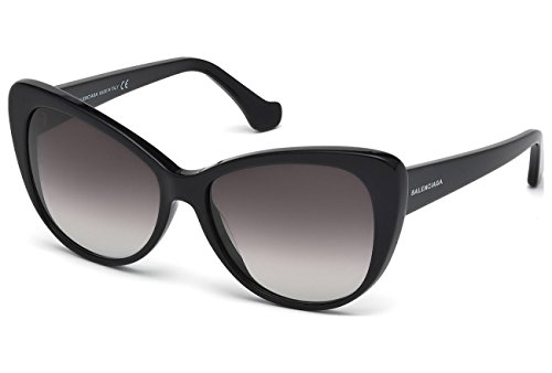 Balenciaga Sonnenbrille 0016_01B (57 mm) schwarz