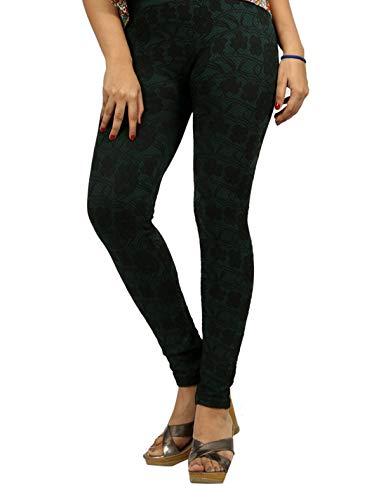 Cotton Jacquard Stylish Designer Sporty Exercise Leggings/pants