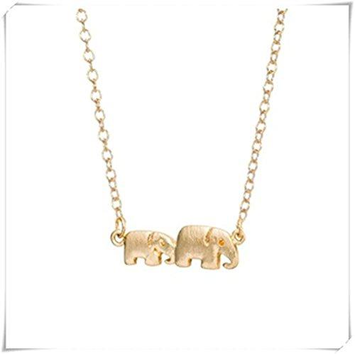 Doble Elefante collar