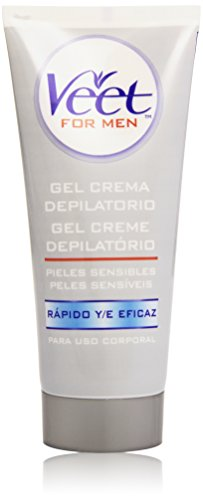 Veet for Men Crema Depilatoria Piel Sensible 200 ml