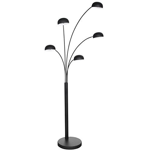 Floor Lamp, 5 Arms, Black lucce: Amazon.co.uk: Kitchen & Home