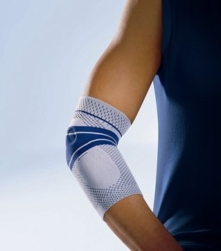 EpiTrain Elbow Support Size: 6, Color: Black by Bauerfeind