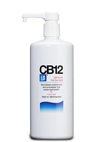 CB12 Mint Menthol Mouthwash 1000ml by CB12