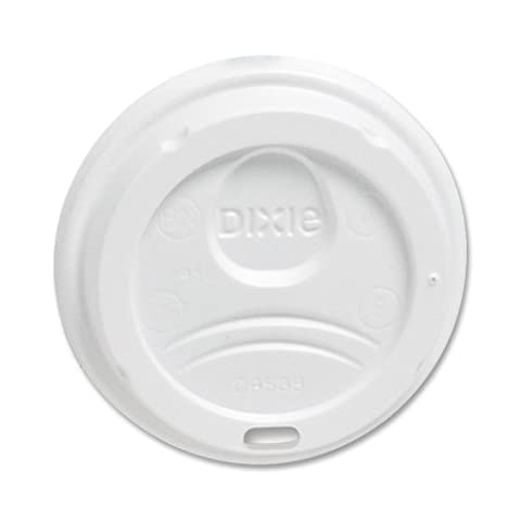 Dixie Foods 9538DXPK Perfect Touch Dome Lids, for 8 oz., 100/PK by Georgia Pacific
