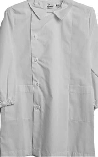 Grembiule siggi scuola maschio col bianco (8 anni - 128 cm)