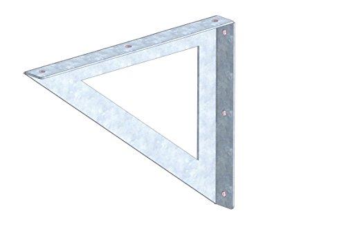 Regal-Konsolen 1 Paar (1 x rechts und 1 x links) -