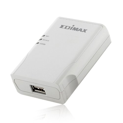 Edimax ps-1206mf USB Print Server for MFPS–Druckserver (Ethernet LAN, RISC, 2MB, 0,512MB, 10–55°C, 0–90%)