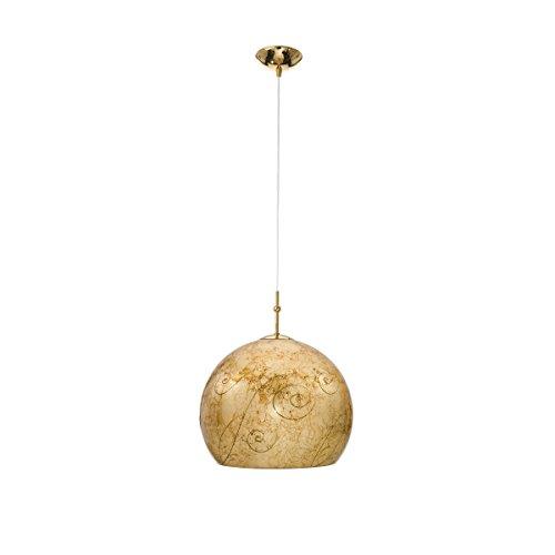 Pendelleuchte LUNA Medici von KOLARZ, 1-flammig, Gold, 0392.31M.3.Me.Au - Pendelleuchte Medici