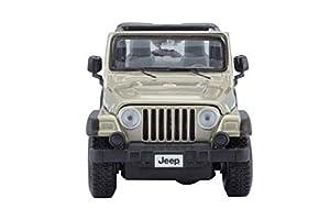 Maisto  31245- Jeep Wrangler Rubicon en escala, 1:27, surtido: colores aleatorios