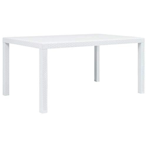 Table rotin blanche - Les meilleurs de Juillet 2019 - Zaveo