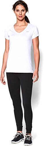 Under Armour Heatgear T-Shirt manches courtes Femme Blanc