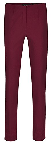 Robell -  Pantaloni  - Straight  - Donna - weinrot(56)