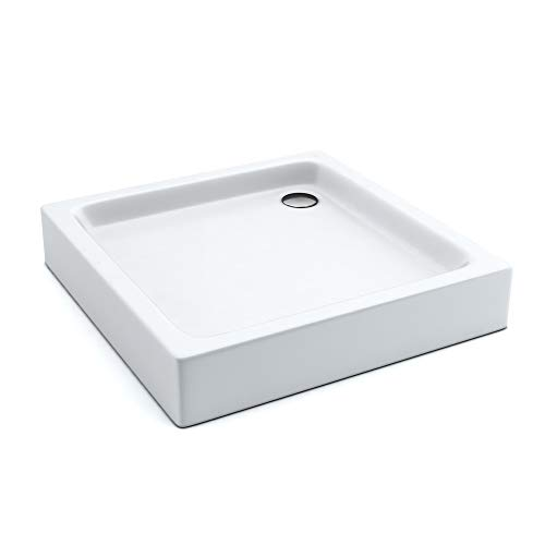 "AQUABAD® Duschwanne ""Comfort Forta Plus"", 80x80cm, Quadrat"
