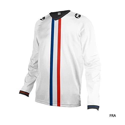 Uglyfrog Herren Downhill Jersey, MTB Männer T-Shirt, Mountainbike/Motocross Atmungsaktives Und Schnell-Trocknend Kurzarm/Lange-Trikot, Enduro/Offroad/Gelände/Quad Cross Kleidung DownSW03